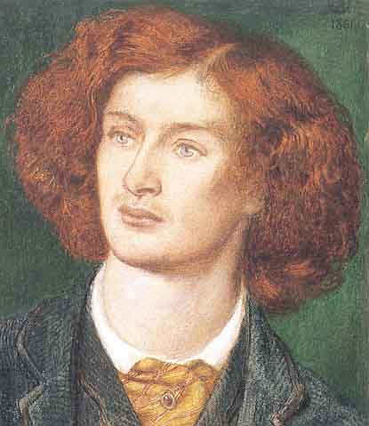 swinburne by rossetti