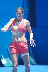 DSC_0836 (*becks*26) Tags: momo sydney tennis 2009 mauresmo ameliemauresmo medibank medibankinternational