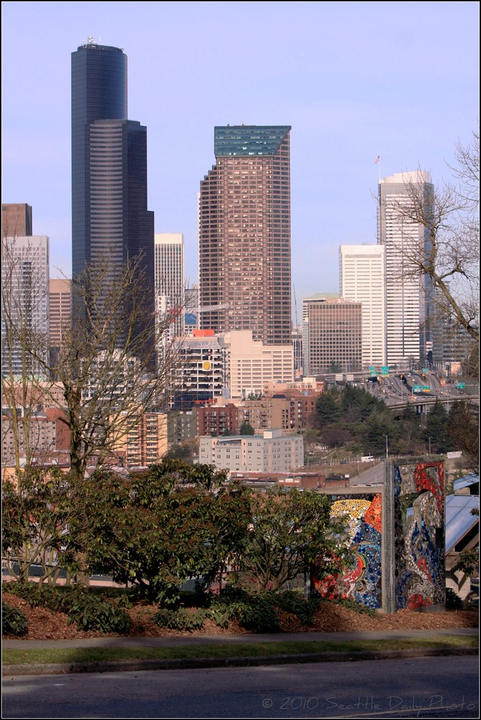Seattle Skyline from Dr. Jose Rizal Park