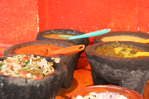 Tacochido salsas