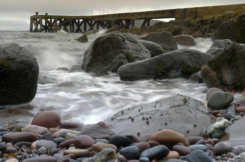 Pier and pebble beach 23Feb09