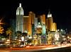 New York New York hotel at night (Harry Ball) Tags: street vegas usa architecture night america buildings lights hotel lasvegas nevada panasonic thestrip lighttrails 2008 newyorknewyork dmcfz7 mwqio