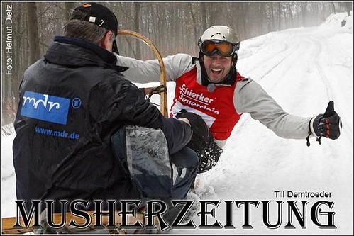 Till Demtroeder - TV-Dreh im Harz
