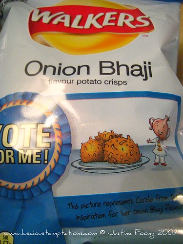 Onion Bhaji Walkers Crisps