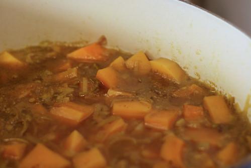 BSquash soup