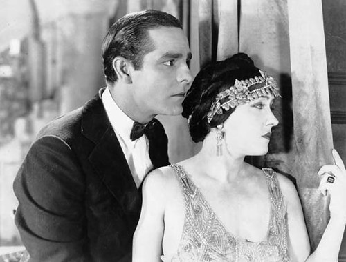 Antonio Moreno and Gloria Swanson