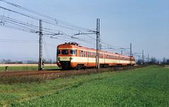 "FS Ale801/940 ""Fanta"" (Maurizio Boi) Tags: railroad italy train rail locomotive railways treno fs ferrovie locomotiva ale801940"