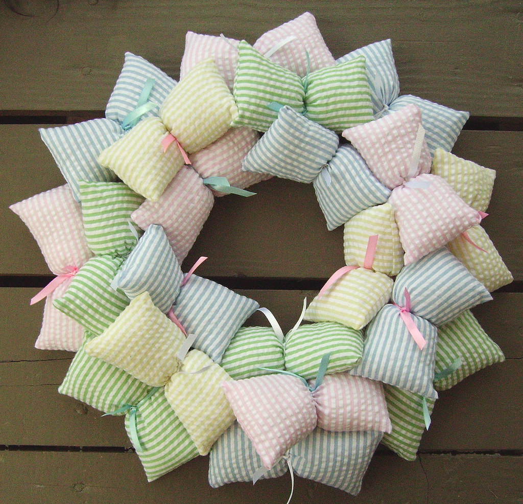 Pastel Nursery Wreath