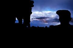 VEN_ROR.360 (photonogrady) Tags: cliff cloud mountain silhouette rock fog montagne trekking trek dark plateau peak sombre piton archway shadowplay geology nuage falaise brouillard rocher ombrechinoise arche tepui geologie inselberg tabulaire