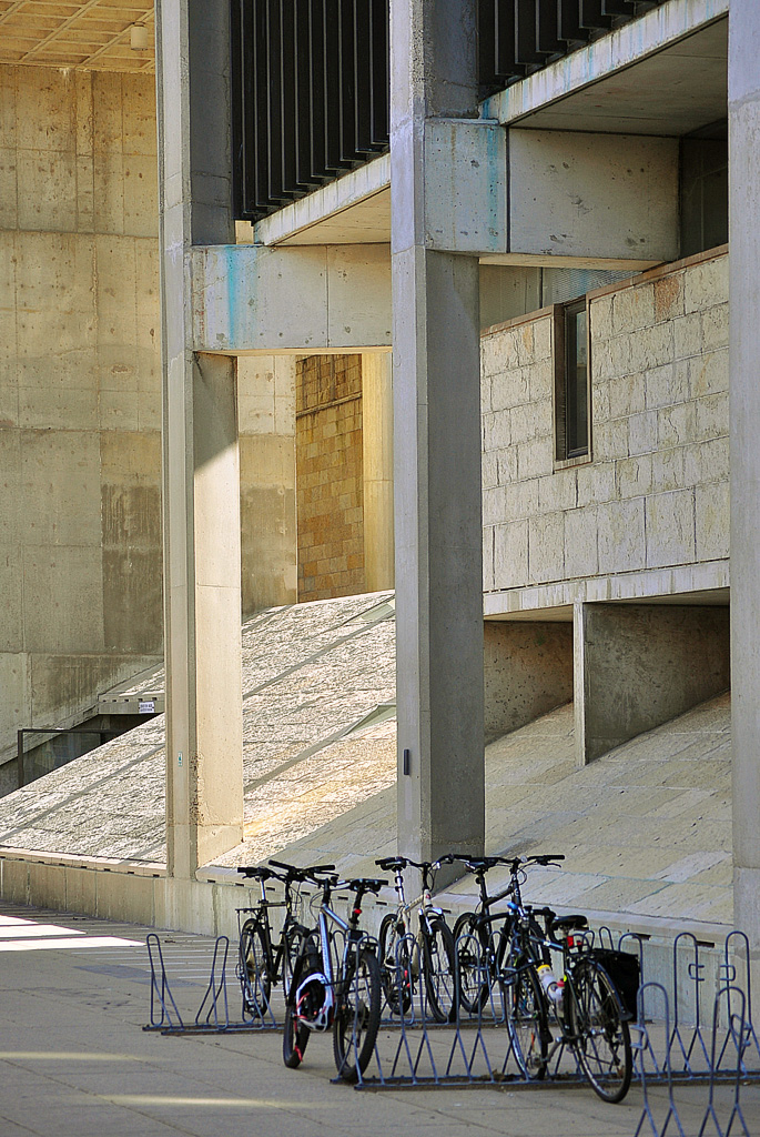 Brutalism Meets Bicycling
