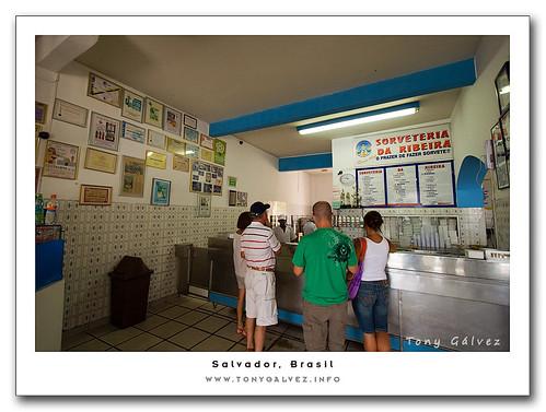 sorveteria da Ribeira, Salvador