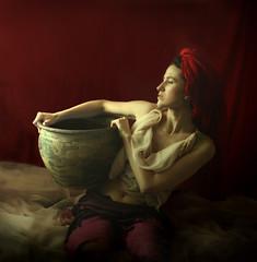somewhere . . . (martikson) Tags: light red portrait woman colour girl self skin somewhere justimagine fivestarsgallery artlibre martikson obq themonalisasmile absoluterouge expressyourselfaward selectbestfavorites —obramaestra—