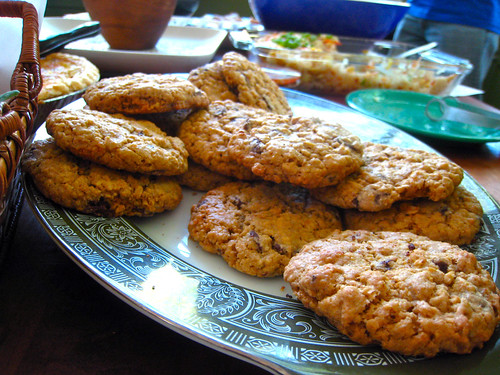 Curry Coconut Chocolate Chip Cookies