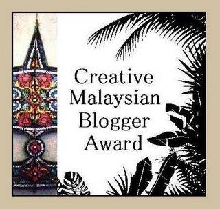 Creative Malaysian Blogger Award