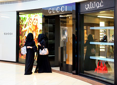 The Gucci Buyers (..:::Mar!na:::..) Tags: shopping al women dubai gulf muslim islam united uae hijab gucci emirates arab bling niqab abu dhabi abaya consumerism sheila islamic jumeirah sheyla arabs fendi emirati khaleeji 3abaya khimar khaleej muslima burrbery gishwa boushiyah gashwa