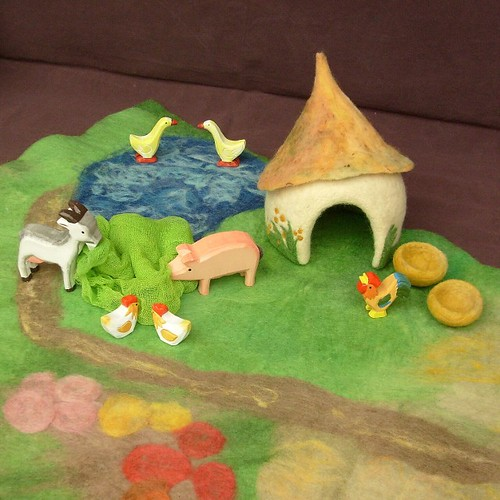 Small Animal Farm - Felted PlayScape