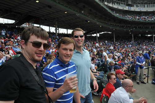 Chris, Ross & Scott at Wrigley