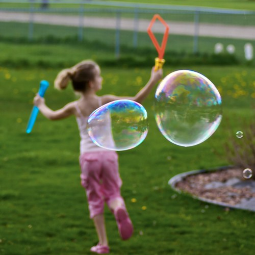 Day 310 - Faster Than Bubbles