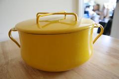 Yellow Enamel Dansk