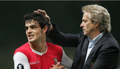 Jorge Jesus e Luís Aguiar - Sporting de Braga
