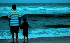 Uncle is a great company for making waves (Sunciti _ Sundaram's Images + Messages) Tags: 1001nights seashore soe visualart sow bestshot blueribbonwinner otw kaledioscope 10faves 5photosaday beautifulexpression abigfave anawesomeshot impressedbeauty aplusphoto flickraward inspirationhappiness brillianteyejewel concordians awesomescenery brilliantphotography overtheshot abovealltherest brutalshots artofimages capturethefinest artofatmosphere winklerians 1001nightsrainbowmagicabigfave