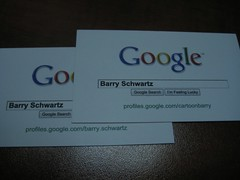 Google Profile Business Cards from iPrint.com