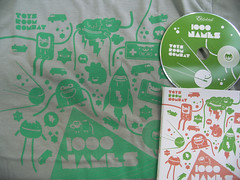 1000names Toys Room Combat Tee & CD  mail from Bulgaria (Stick-A-Thing_____S_____ A_____T) Tags: urban music records berlin cute art monster collage illustration digital toy happy design sofia sweet cd character yo fresh doodle bulgaria kawaii jabba characters hiphop monsters doodles sat custom rayo disc blitz diseo vector desenho beats ilustracion doodling personagem vetor monstros disque raio ilustracao barkas digipack chomba stickathing eklektik 1000names toysroomcombat