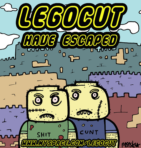 Lego Cut Have Escaped poster