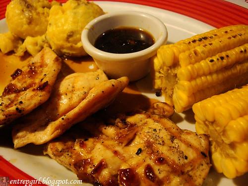 TGIF Jack Daniel's chicken