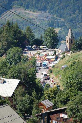 l'Alpe d'Huez, Tour de France 2008