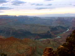 Colorado river from Deset View (harisukumar) Tags: sunset grandcanyon coloradoriver hdr desertview