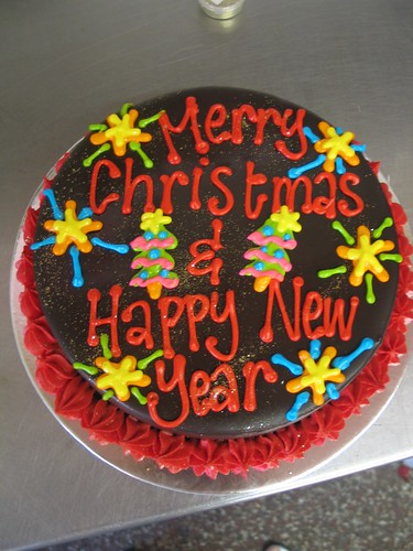 wicked chocolate cake bright happy new year