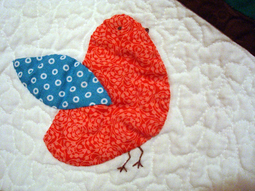 bird mini red
