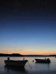20060901_2022__IMG_6083 (Renato Esti) Tags: sunset sea night stars tramonto mare dusk croatia croazia notte stelle tranquillity crepuscolo cres tranquillit cherso renatoesti