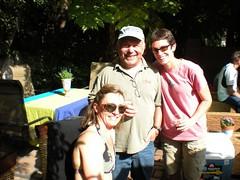 kyra, chuck and me
