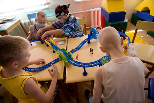 Russia Children's Hospital Playroom