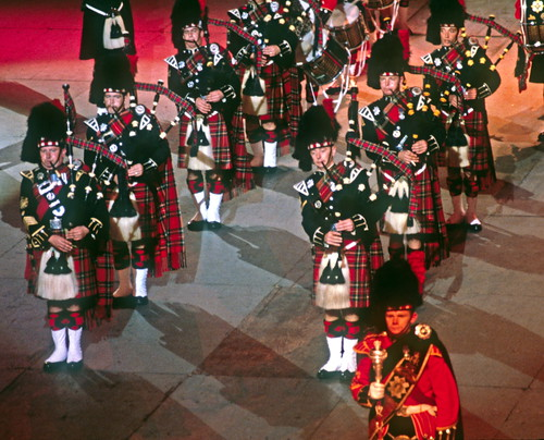 The Black Watch Pipers and Drummers