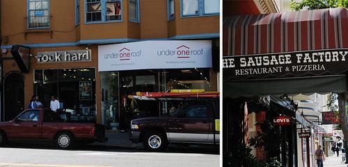 Castro Street stores