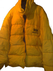 Helly Hansen Reversible Coat Yellow / Blue (Clothes Mountain) Tags: red coat down retro filled jacket hansen nylon waterproof helly reversible cagoule kagool