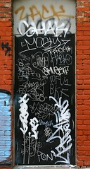 Tagged (funkandjazz) Tags: sanfrancisco california door graffiti tofu el ideal zack chug pon shak armer bkf hablo rench laers mogly amuser hras