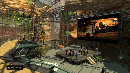 PlayStation Home media & events space