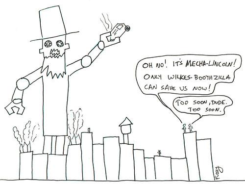 366 Cartoons - 118 - Mecha-Lincoln