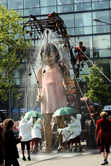 La douche de la Petite Géante // The Little Giantess' shower