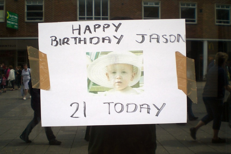 Jason. Happy birthday Jason