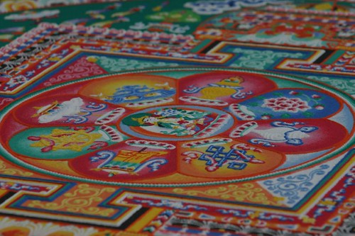 The buddhist mandala at the Telfair Museum of Art, Savannah...