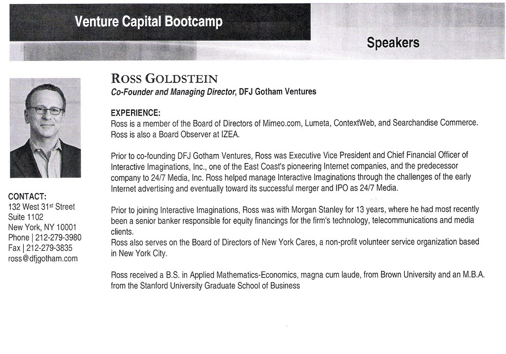 Ross Goldstein