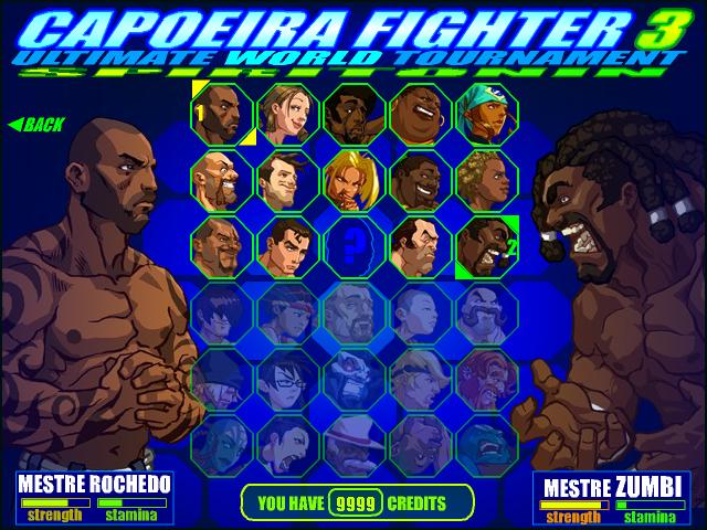 Capoeira Fighter 3 Ultimate World Tournament Portable (Kurulumsuz)