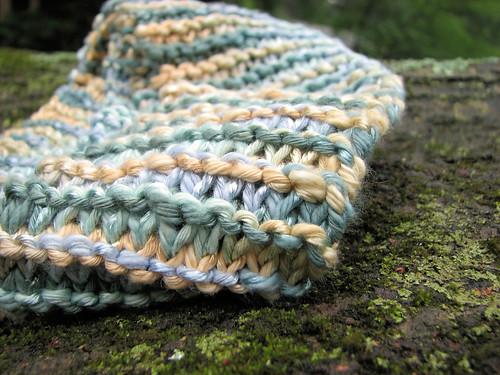 Long garter stitch scarf