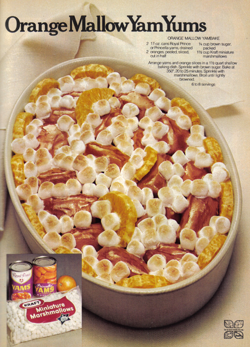 Vintage Ad #826: Orange Mallow Yam Yums