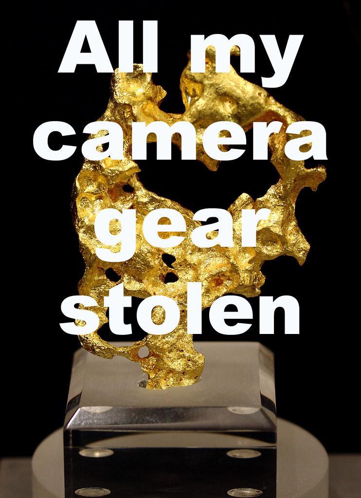 All Camera Gear Stolen